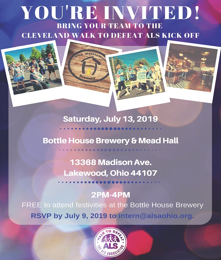 2019 Cleveland Kick Off Flyer