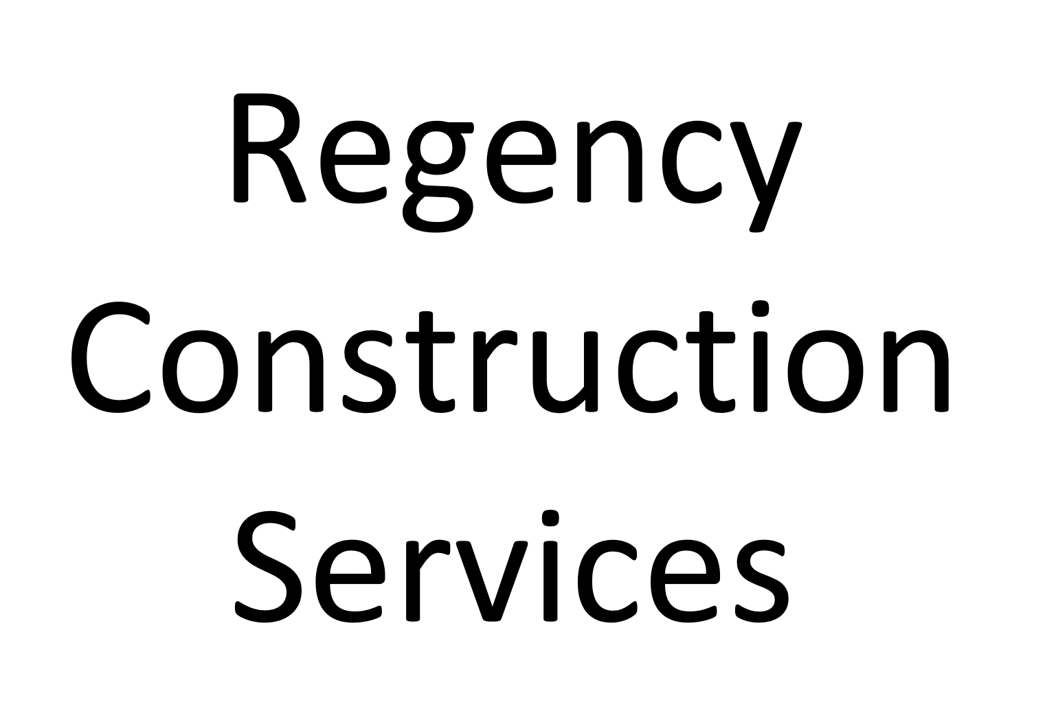 Regency Construction Services Name