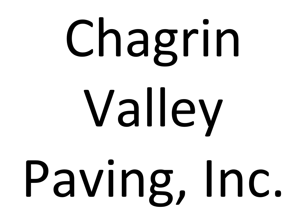 Chagrin Valley Paving, Inc. Name